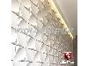 سنگ مصنوعی سمنت پلاست نمای ساختمان طرح پرنیان