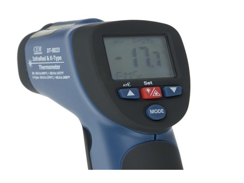 دماسنج لیزری1050درجه مدل DT-8835