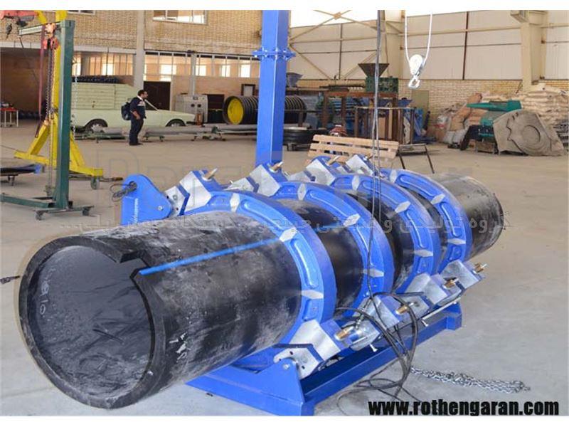 دستگاه جوش پلی اتیلن بات فیوژن هیدرولیک 1000-500 جینجر