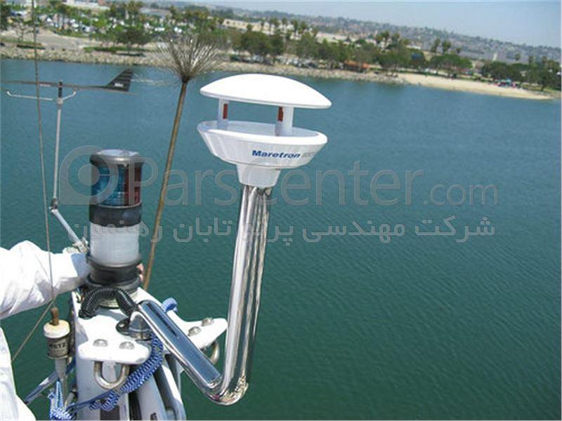 سنسور آلتراسونیک باد و آب و هوا مدل WSO100