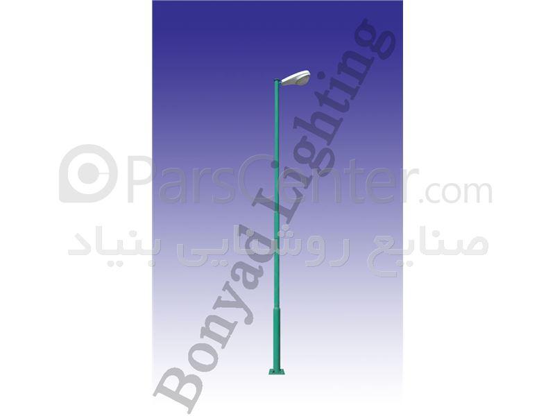 پایه روشنایی گرد ( لوله ای )