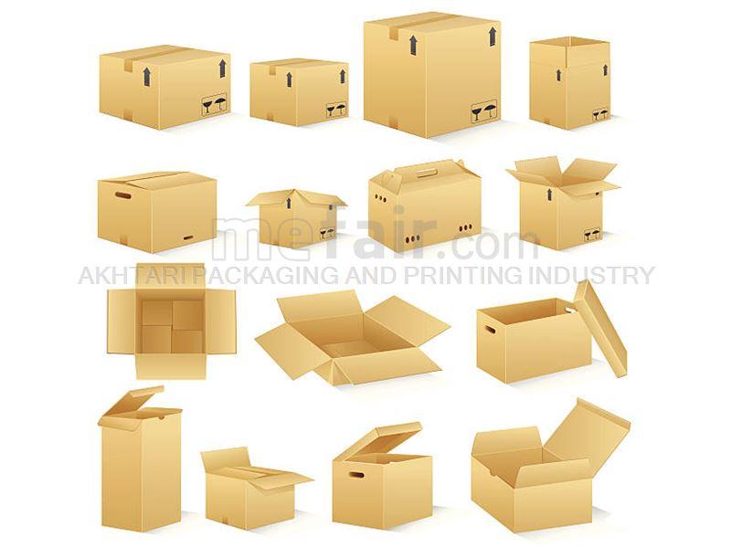 Producer various kinds of carton box : 3-layer and 5-layer carton box production