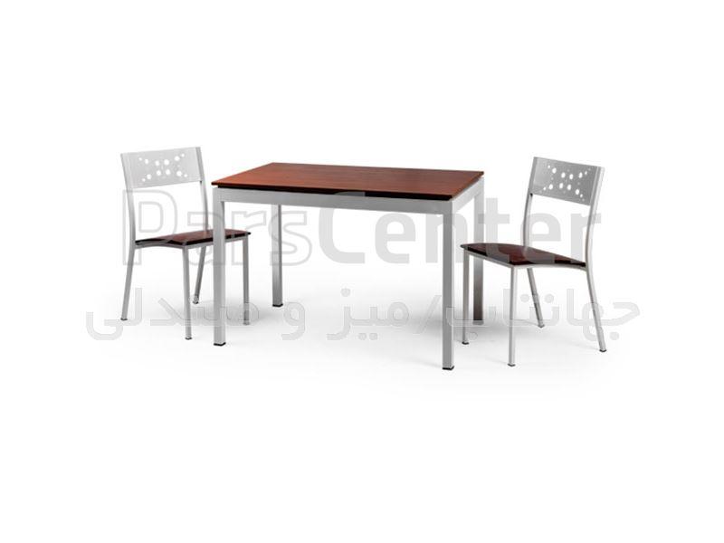صندلی فلزی فست فودی مدل آدریا C (جهانتاب)