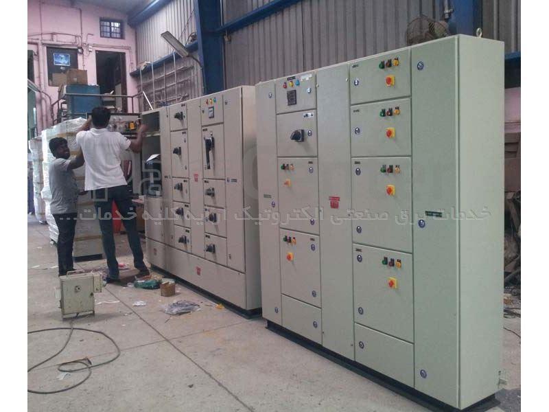 تعمیرات برق ماشین آلات ساخت اسنک