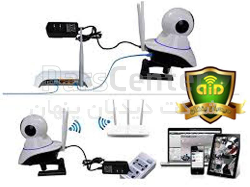 دوربین مراقبت از کودک و مراقبت سالمند ،دوربین چرخشی رم خور
