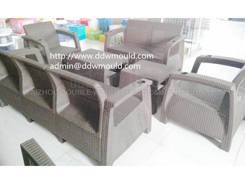 DDW Plastic Rattan Safa Mold to Turkey