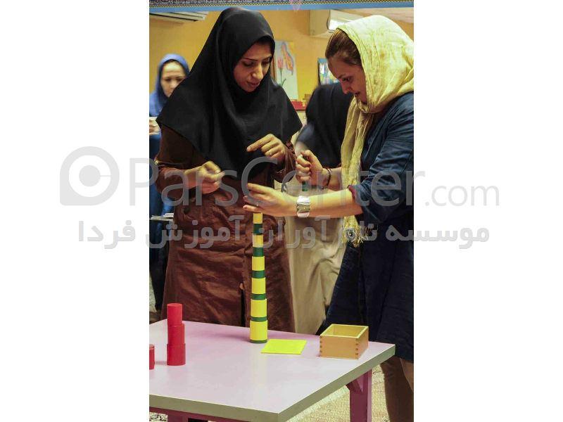 دوره جدید (اردیبهشت 96)آموزش مربی گری مونته سوری