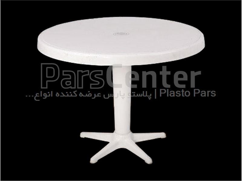 میز پلاستیکی گرد عسلی و کودک قطر 60-کد101200