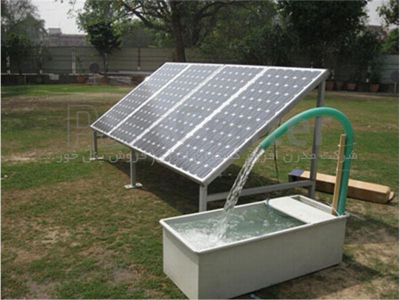 پمپ خورشیدی 3 اینچ  250 متری