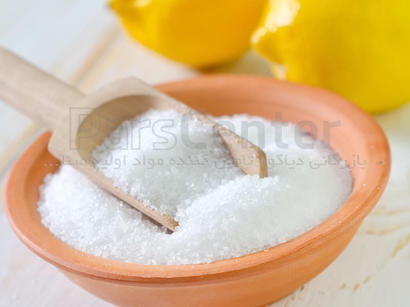 اسید سیتریک جوهرلیمو خشک و آبدار
