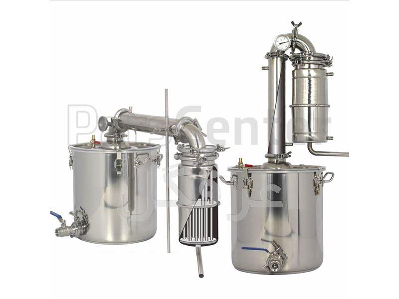 دستگاه عرق گیری صنعتی،دستگاه گلاب گیری صنعتی (کارگاهی)