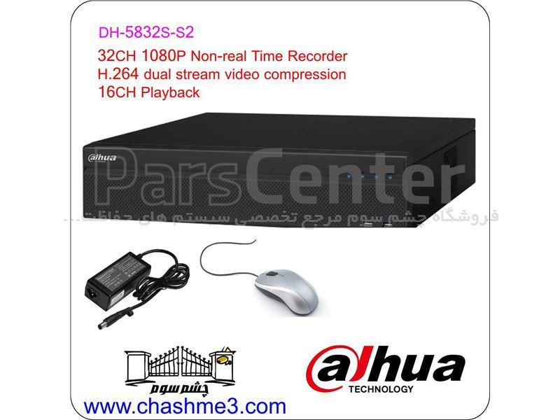 دستگاه ضبط تصاویر دوربین 32 کاناله  NVR-XVR- DVR