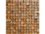تایل چوبی مربع رنگی - coco tile