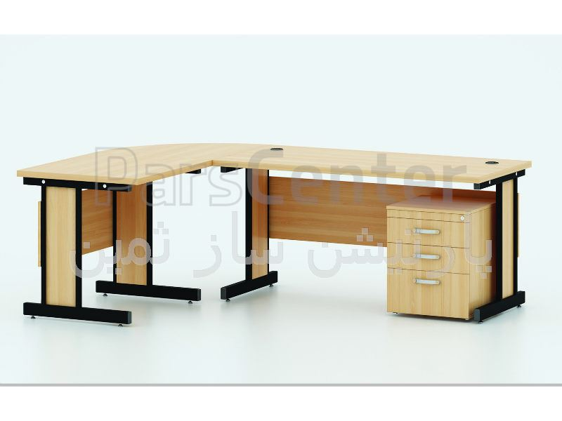میز کارشناسی پایه فلزی ثمین مدل 7206