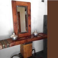 میز آرایش ، آینه چوب
