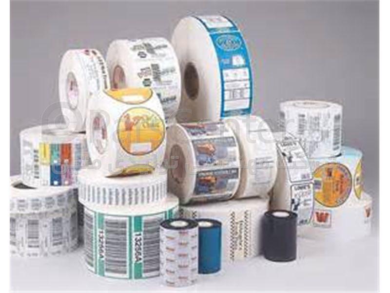 63660ccaf لیبل پشت چسبدار سفید و چاپی - محصولات لیبل و برچسب در پارس سنتر