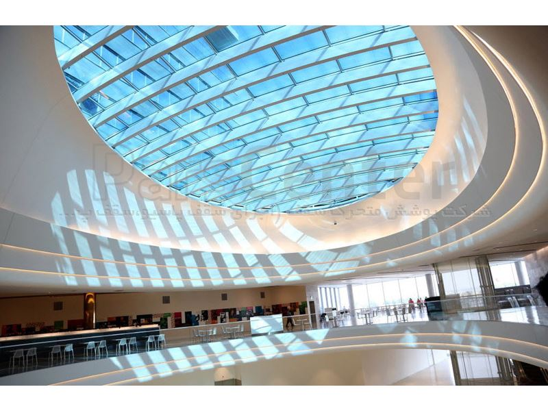 سقف تجاری و سفارشی مدرن
