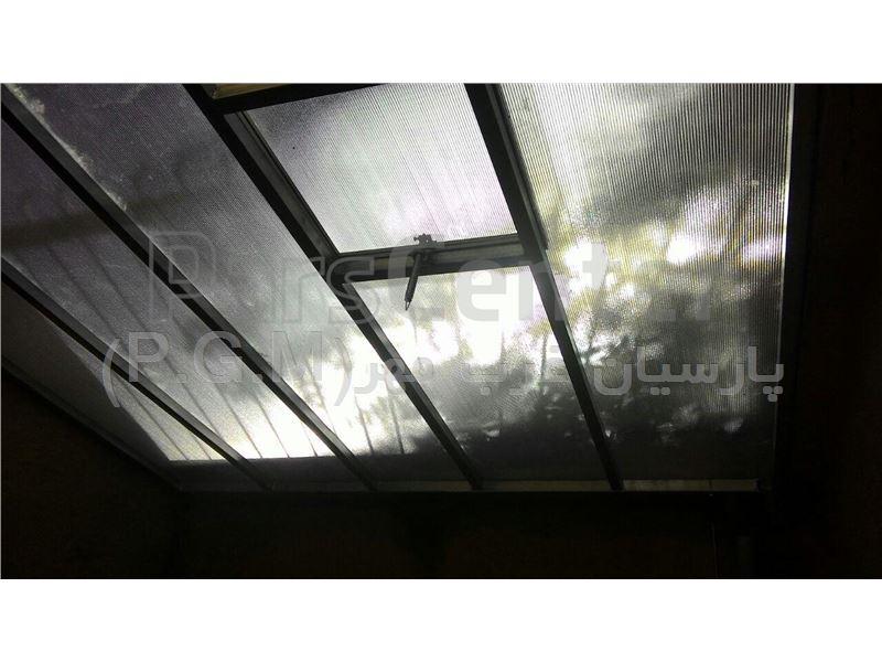 اجرای سقف حیاط  خلوت ( بلوار کشاورز )