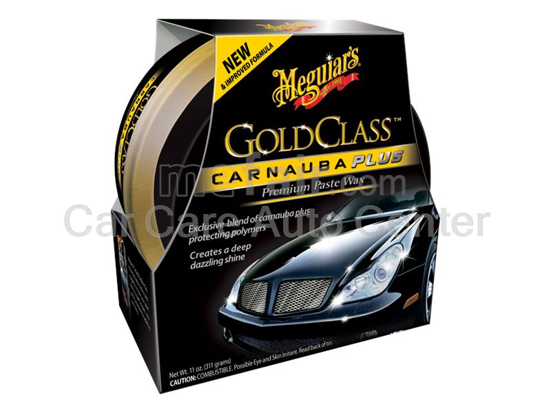 Meguiar's® Gold Class™ Carnauba Plus Premium Paste Wax,