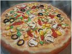 ساخت ماکت تبلیغاتی پیتزا