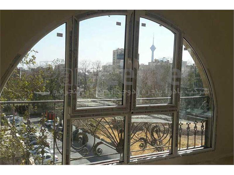پنجره دوجداره UPVC پادرا