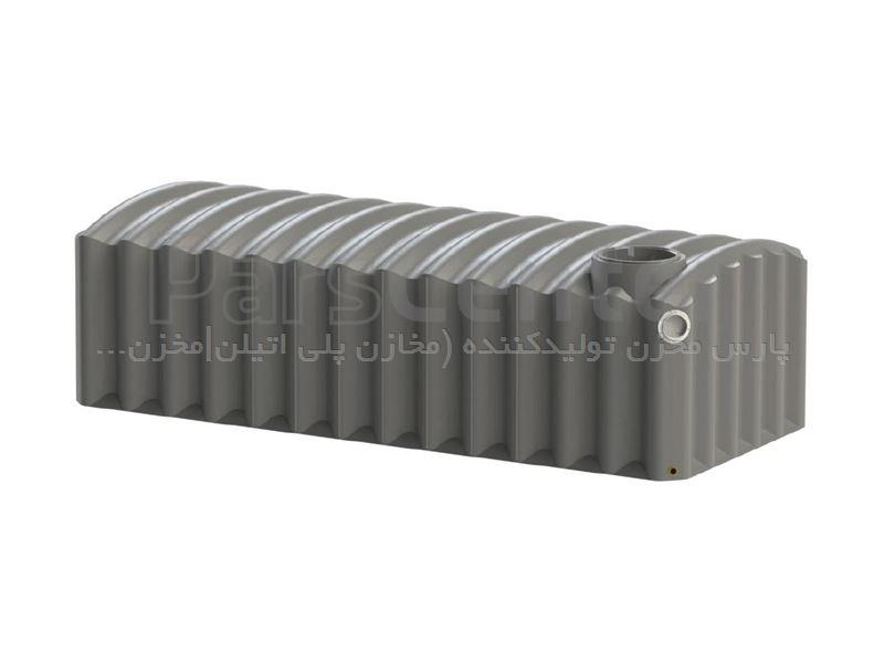 مخازن پلی اتیلن 500 لیتر مکعبی خوابیده اریا پلاست