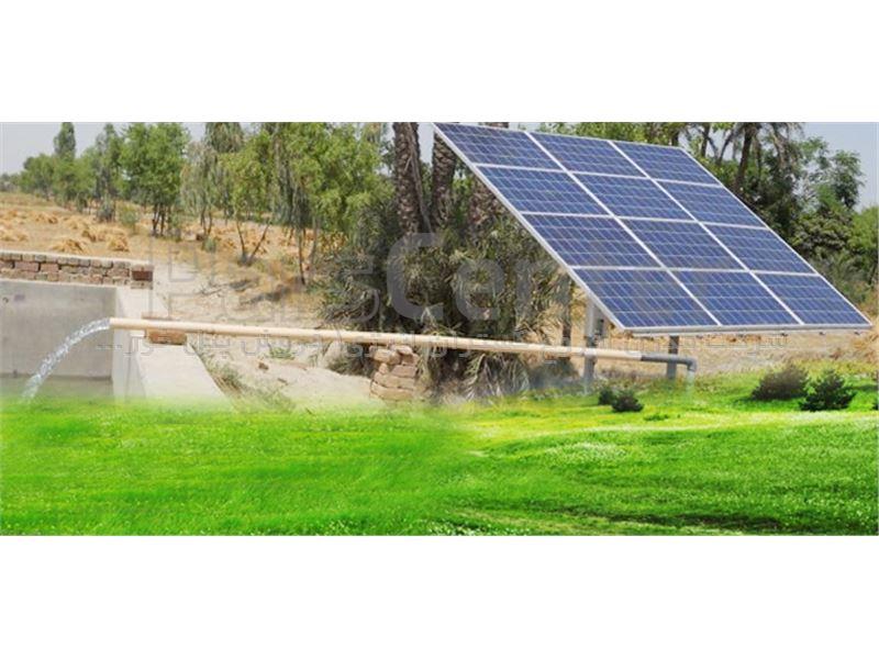 پمپ خورشیدی 3  اینچ 22 متری