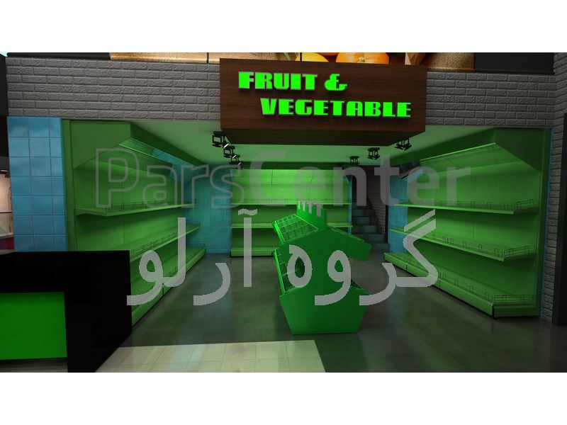 طراحی فروشگاه زنجیره ای تارا مارکت بندرعباس شعبه شهروند-دکوراسیون فروشگاهی 09