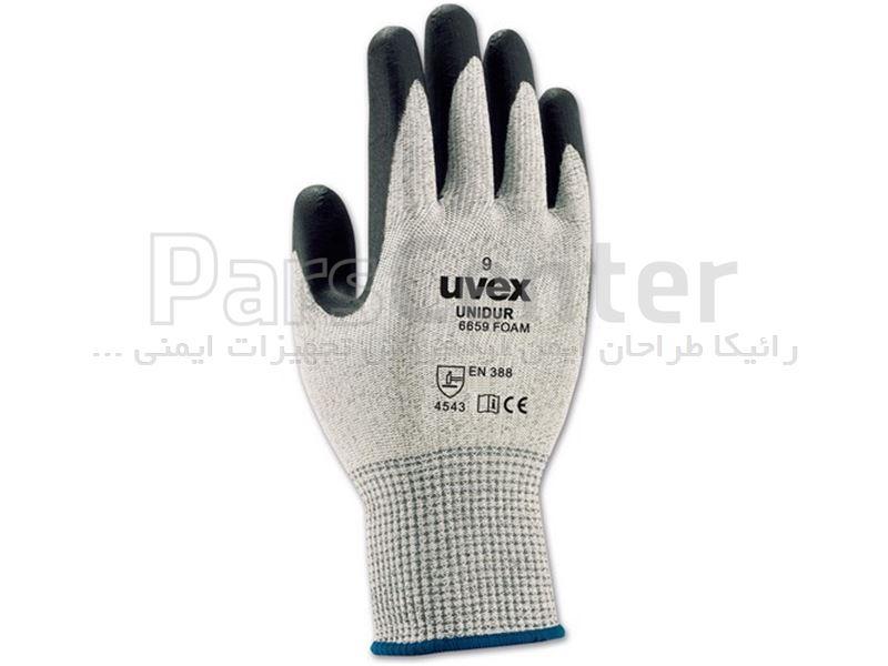 دستکش ایمنی ضد برش Uvex مدل unidor 6659