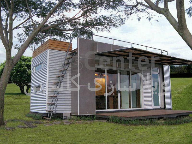 خانه کانکس مدرن قابل حمل