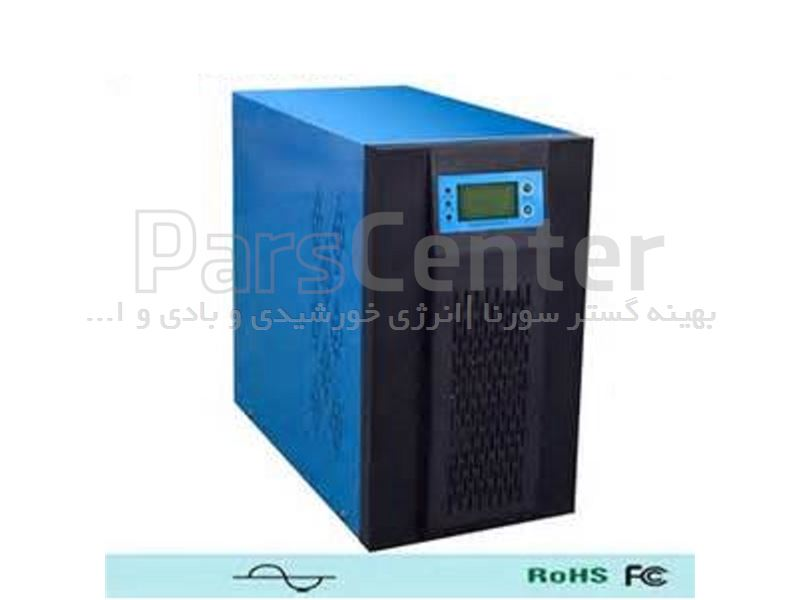 اینورترخورشیدی 24 ولت تمام سینوسی 1000 وات فرکانس پایین با شارژر Ac
