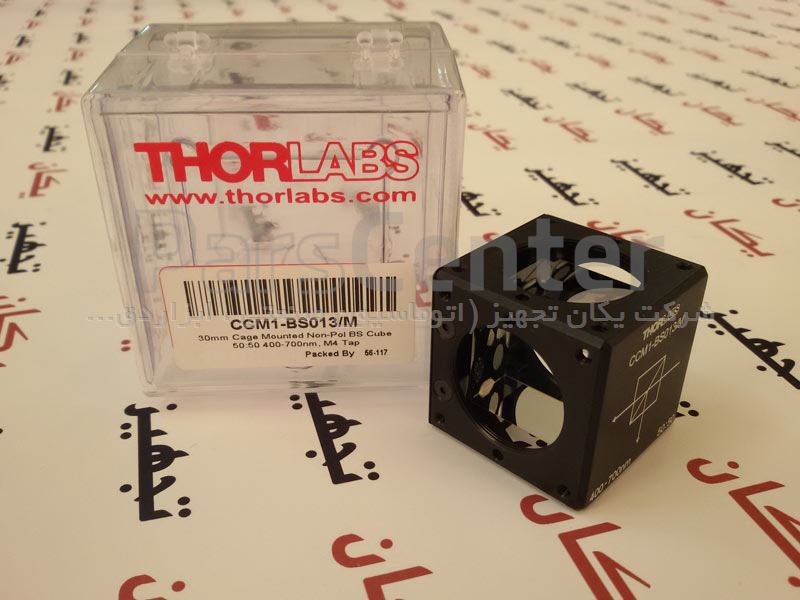 تجهیزات تورلب THORLABS Non-Polarizing Beamsplitter Cubes CCM1-BS013/M