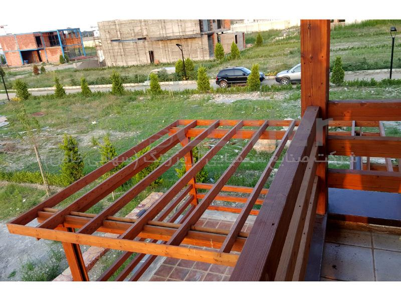 پرگولا چوبی ، شهرستان نور