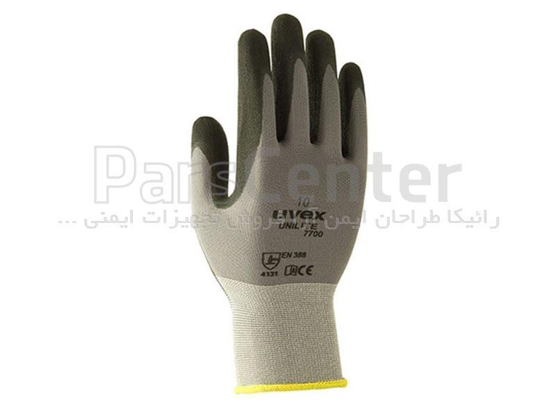دستکش ایمنی ضد برش Uvex مدل unilite 7700