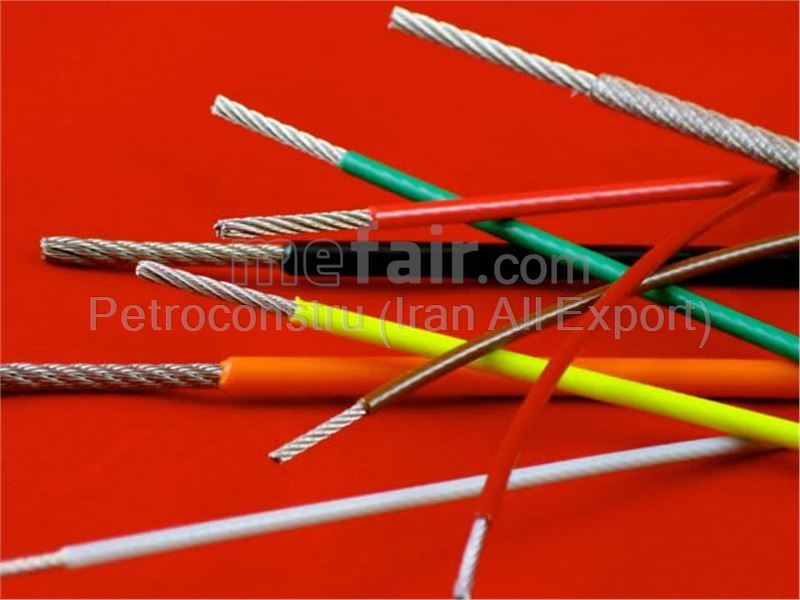 PVC covered wire rope