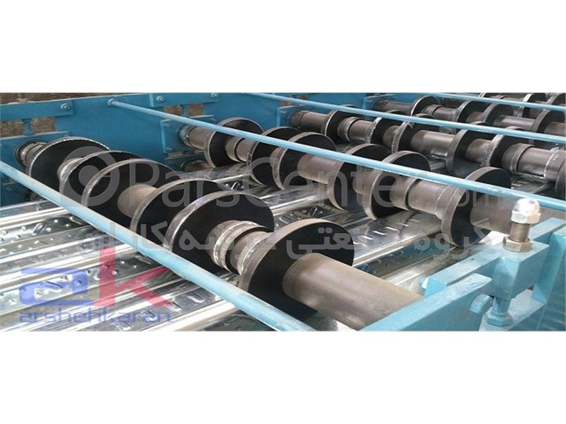 تولید ورق گالوانیزه رول فرم شده در طولهای دلخواه