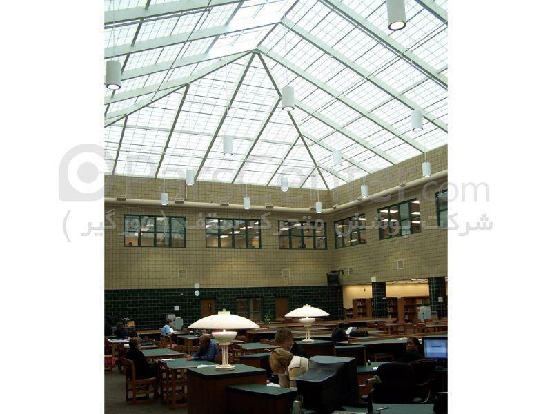 طراحی و ساخت پوشش سقف رستوران و کافی شاپ
