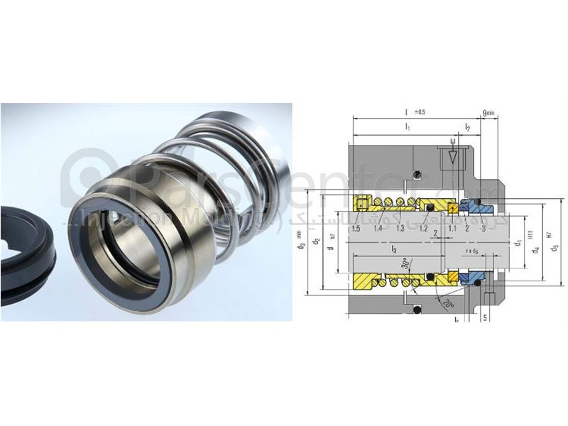 Mechanical Seal (Rotational) Pump Shaft