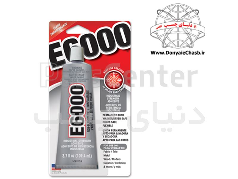 چسب همه کاره ( چسب کاشت نگین ) E6000 آمریکایی