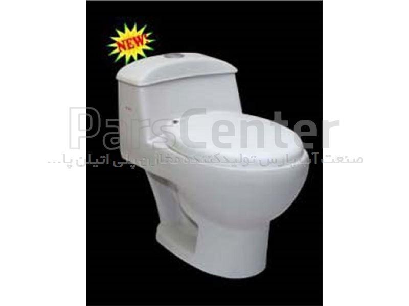 توالت فرنگی پارس سرام مدل دیبا
