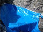 ساخت استخر با ورق ژئوممبران در شرایط محیطی سخت، آب معدنی پلور