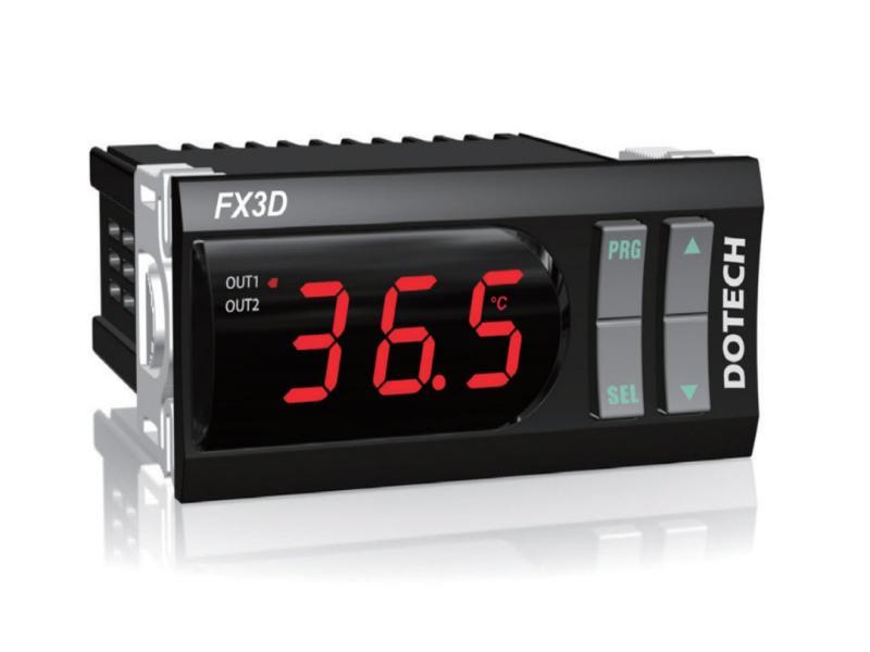 نماینده رسمی و انحصاری ترموستات دمای دیجیتال Dotech مدل FX3D