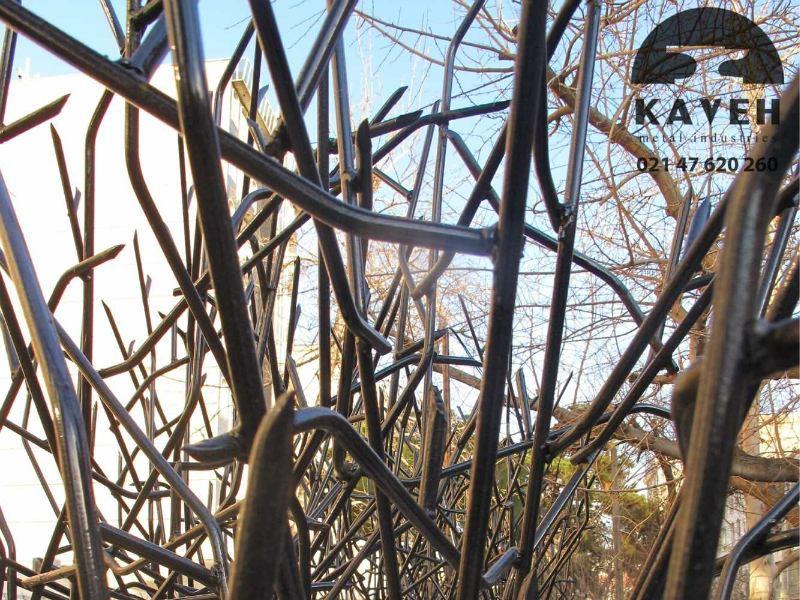 صنایع فلزی کاوه - تولید کننده حفاظ شاخ گوزنی و حفاظ بوته ای