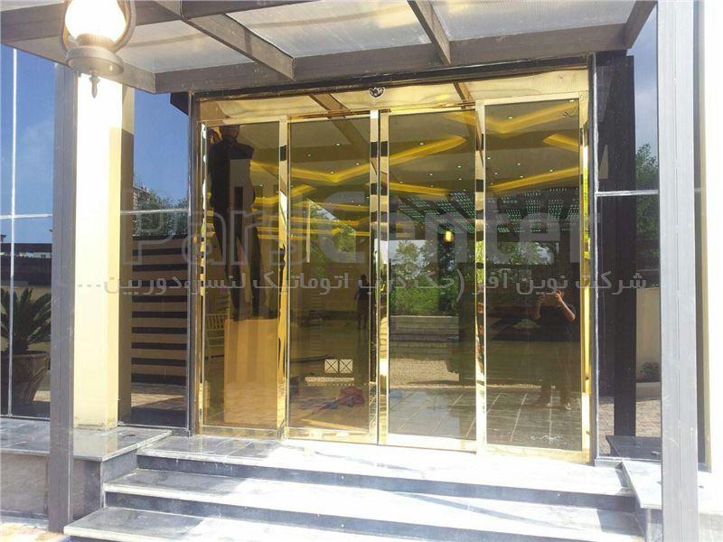 درب اتوماتیک شیشه ای لابل ایتالیا