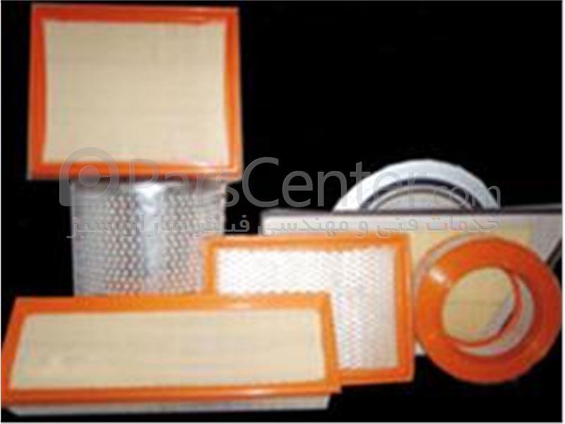 فروش مواد اولیه فیلتر هوا