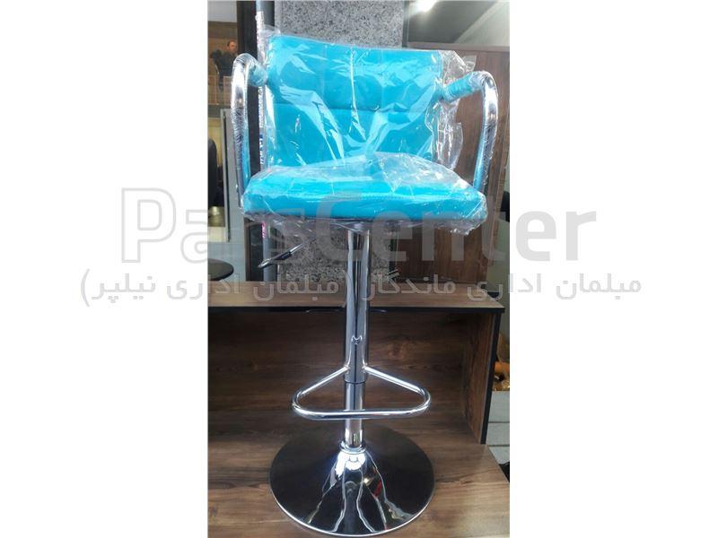 صندلی کانتر(مدل لمسه ای دسته دار)