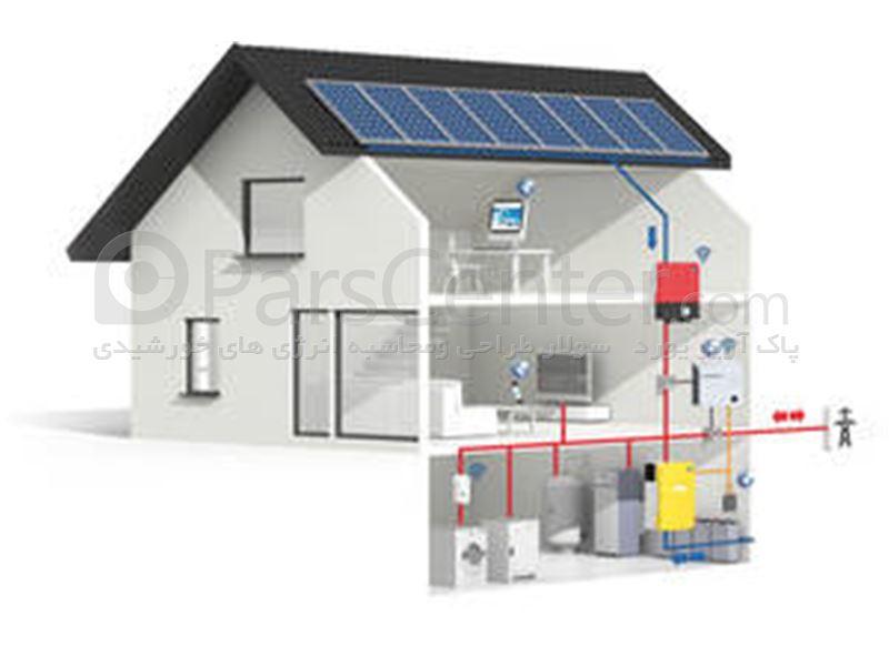 اینورتر خورشیدی متصل به شبکه