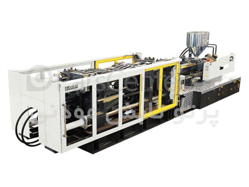 دستگاه تزریق پلاستیک 630 تن (پرتوتابش)