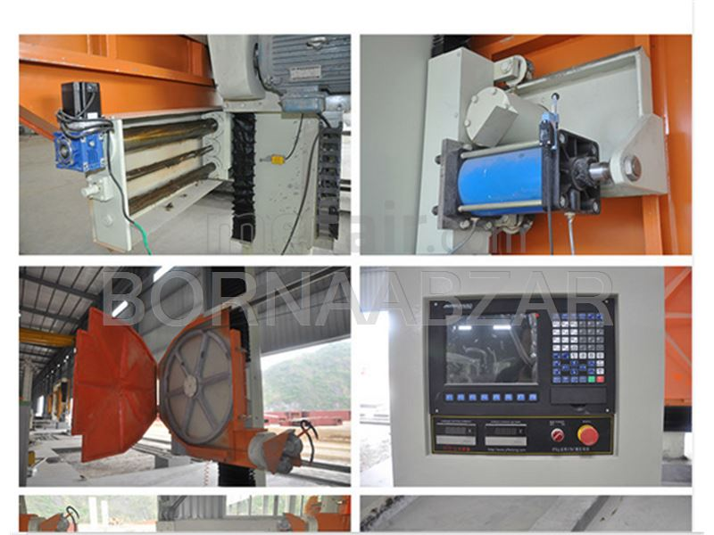Designer and manufacturer of stone cutting machines Cable Vhk in Iran