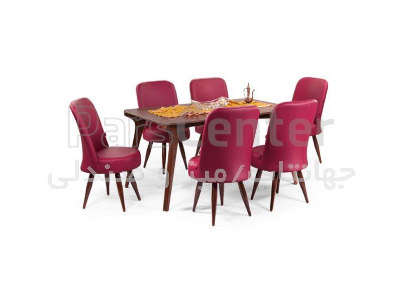 میز چوبی رستورانی مدل W86 (جهانتاب)